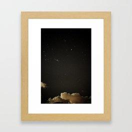 stillNIGHT Framed Art Print