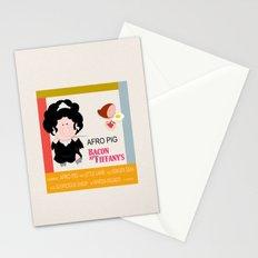 Bacon at Tiffany's Stationery Cards