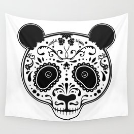 Dark Panda Wall Tapestry
