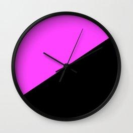 Anarcha Feminist Flag Anfem Wall Clock