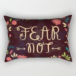 Fear Not Rectangular Pillow