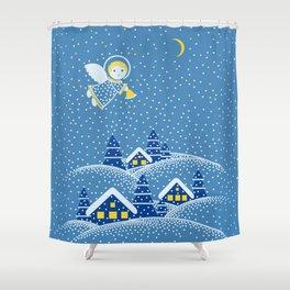 MAGIC ANGEL Shower Curtain