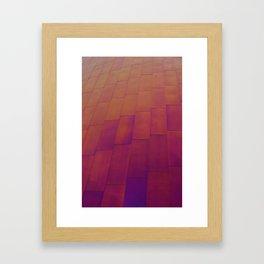 Wall of Color Framed Art Print