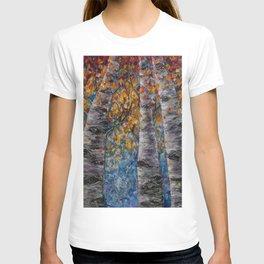 Aspen Trees by OLena Art T-shirt