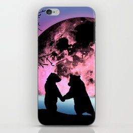 Bear Moon iPhone Skin