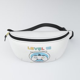 Gamer Geek Level 18 Complete Game Controller Fanny Pack
