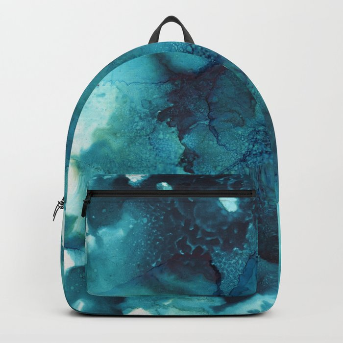 Blue - Abstract Backpack