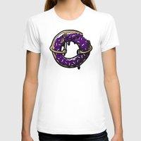 doughnut T-shirts featuring Hurtz Doughnut by Jonah Makes Artstuff