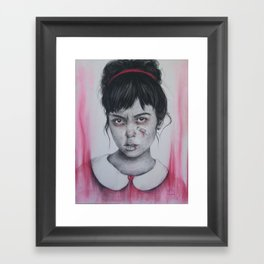 Princess Issues Framed Art Print