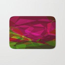 Rosas Moradas 2 Abstract Polygons 3 Bath Mat
