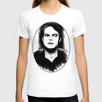 snl T-shirts featuring DARK COMEDIANS: Bill Hader by Zombie Rust