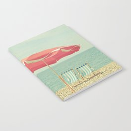 Deserted Beach Notebook