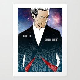 Twelfth Doctor Art Print