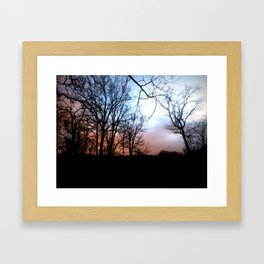 The Dancing Limbs Framed Art Print