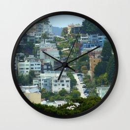 Lombard Street, San Francisco Wall Clock
