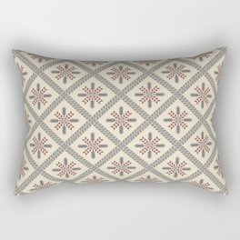 Palestinian embroidery pattern Rectangular Pillow