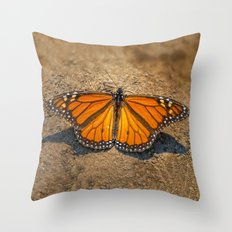 MONARCH OF ALL HE SURVEYS Throw Pillow