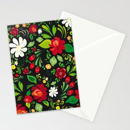 Russian folk Stationery Cards