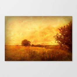 Autumn - Dundry Fields, Sonerset. Canvas Print
