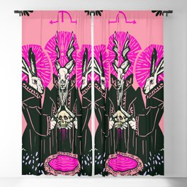 Bloodletting ritual Blackout Curtain