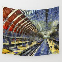 Paddington Railway Station Art Wall Tapestry