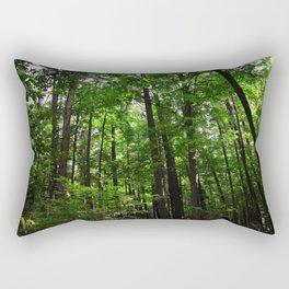 Forest // Smell The Green Rectangular Pillow