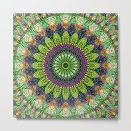 Mandala Patchwork 2 Metal Print