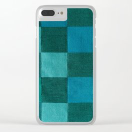 TEXTURE TISSUE 1 Clear iPhone Case