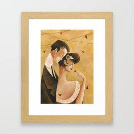 '20s Valentine Framed Art Print