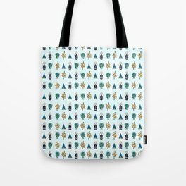 Ancient Symbols Pattern 1 Tote Bag