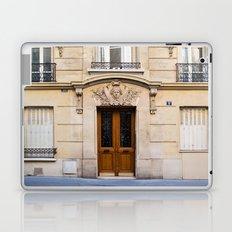 PARIS DOORS: NO. 6 (Paris, France) Laptop & iPad Skin