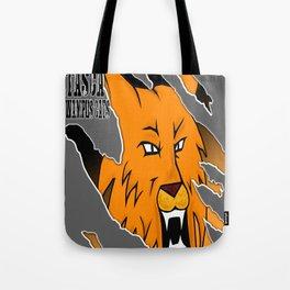 Wampus Cat Grey Tote Bag
