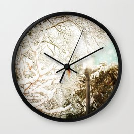 A Chronicle Wall Clock