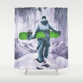 Velvet Moments Shower Curtain