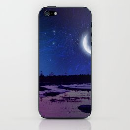 Night - From Day And Night Painting iPhone Skin