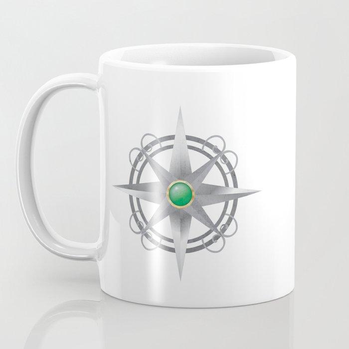 The Four Worlds Series Compass Coffee Mug