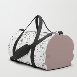 Terrazzo Texture Antique Pink #6 Duffle Bag