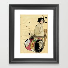 Russian Doll Framed Art Print