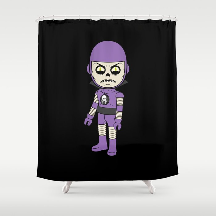 Deathray Shower Curtain