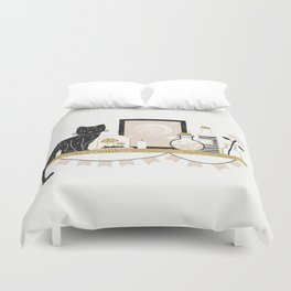 Magical Little Shelf Duvet Cover