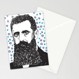 Theodor Herzl Stationery Cards