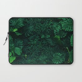 Fresh Tropical Greenery (Color) Laptop Sleeve