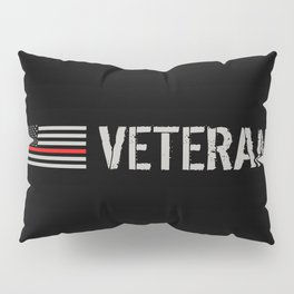 Firefighter Veteran: The Thin Red Line Pillow Sham