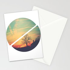 Colored Sky Stationery Cards