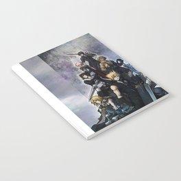 The Warriors of light Notebook