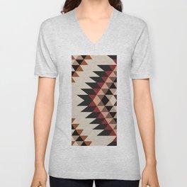 American Native Pattern No. 254 Unisex V-Neck