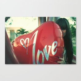 I love you 2 Canvas Print