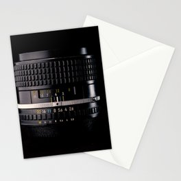 Professional Photography Lens Stationery Cards