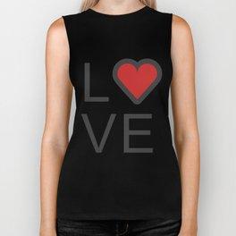Love Super Cute Valentines Day Love Gift Idea Design Biker Tank