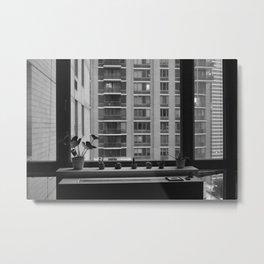 City Sill Metal Print